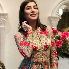 Mehwish Hayat High Neck Dress, Pakistani, Beauty, Dresses, Fashion, Vestidos, Moda, Gowns, Cosmetology