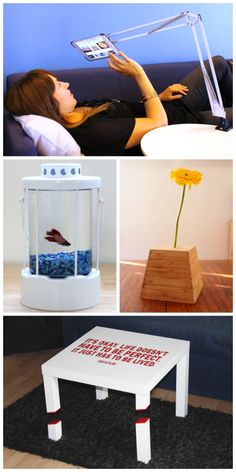 IKEA Hacks - Volume 2 : 24 awesome projects all using IKEA products #woodworking #decoration #furniture
