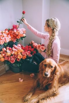 So many beautiful roses // barefoot blonde - Tap the pin for the most adorable pawtastic fur baby apparel! You'll love the dog clothes and cat clothes! <3