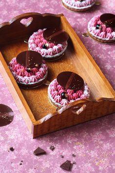 Verdade de sabor: Шоколадные тарталетки с чёрной смородиной / Tartel...