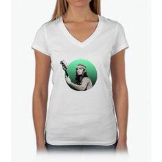 Jaco Pastorius Womens V-Neck T-Shirt