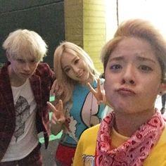 amber, taeyeon, heechul