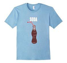 Soda Pop Couples Halloween Costume T-shirt Burger & Soda Pop