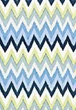 Adras Ikat Print - Sky  (pillow option)