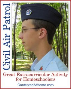 Civil Air Patrol - homeschool-friendly organization for kids who are interested in aviation and/or the military
