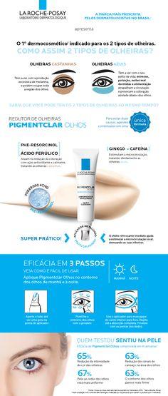 R$ 140 Panvel Farmácias - Pigmentclar Olhos La Roche-Posay 15ml