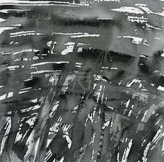 GRISAZUR: Acuarela sobre papel, 14x14 cm.Nov. 30, 2016