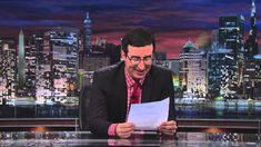 John Oliver Reading a Letter From POM Wonderful About His Segment Skewering Them on 'Last Week Tonight'