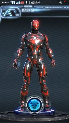 Ironman Mark 51 Suit Video Wallpaper (HD) «