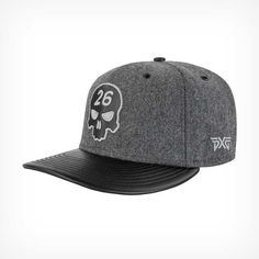 3315acd7f8c Darkness falls on this brushed finish golf cap