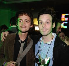 Actor Scoot McNairy , winner of the John Cassavettes Award for 'In Search of a Midnight Kiss' and guest attend the 24th Annual Film Independent's Spirit Awards celebration on February 21, 2009 in Santa Monica, California (photo Frazer Harrison) - Edited
