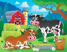 Farm animals theme image 8 - eps10 vector illustration