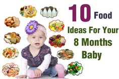 Food Ideas For Your 8 Months Baby