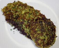 Dr. Sebi Alkaline Electric Zucchini Cakes Recipe
