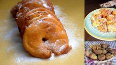 Ogni regione ha le sue tipiche frittelle, siano esse piatte, tonde, a ciambella, ripiene di crema o marmellata o semplicemente ricoperte di zucchero al velo