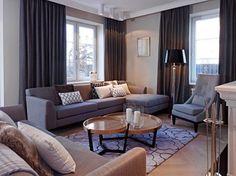 Dom na Targówku - Średni salon, styl nowojorski - zdjęcie od BBHome