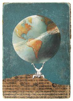 Original Assemblage Art & Collage by sushipot Mixed Media Artwork, Assemblage Art, Collage Art, Collages, Photo Manipulation, Traditional Art, Digital Art, The Originals, Collage