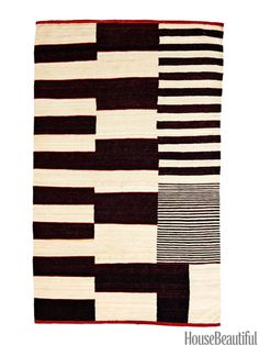 Like modern art for your floor. Medina rug by Nanimarquina.