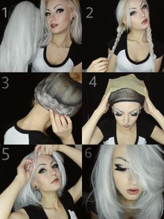 Synthetic wig is your best pal on a bad hair day. You can be versatile with synthetic wigs as they come in various styles & colors. However, if you like to flaunt your natural hair with an added boost Bad Hair, Hair Day, Wig Styles, Long Hair Styles, Bad Styling, Wig Companies, Diy Wig, Princesa Jasmine, How To Wear A Wig