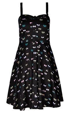 Women's Plus Size Eye Spy Dress | City Chic USA