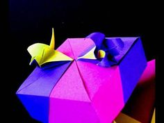 How to make an Origami Crane-Lily Box Crane Module - video 1 of 2