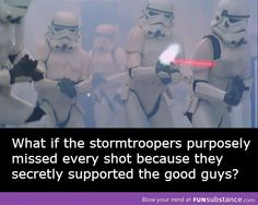 """Plausible!! As they are either a) the descendants of the clone troopers. or b) yet more clones. If they are clones they'd """"remember"""" recent history and How Vader betrayed the Jedi. If they're descendants, then they've heard the stories of Commander Cody and Capt. Rex before the Betrayal and all about the Betrayal too!"""