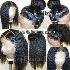 Thriving Hair Full Lace Human Hair Wigs for Black Women Curly Brazilian Virgin Hair Lace Front Human Hair Wigs Glueless Full Lace Wigs with Baby with 130 density lace front wigs * Details can be found by clicking on the image. (This is an affiliate link) Short Human Hair Wigs, Human Wigs, Remy Human Hair, Curly Wigs, Remy Hair, African Hairstyles, Weave Hairstyles, Black Hairstyles, Trending Hairstyles