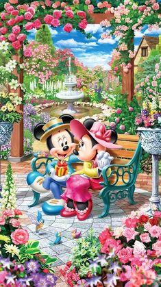 DIY Diamond painting Disney Mickey & Minnie Mouse Mosaic Cross Stitch Full Square Drill Diamond Painting kit Home Sticker Decoration Disney Mickey Mouse, Retro Disney, Walt Disney, Mickey Mouse And Friends, Disney Art, Mickey Mouse Wallpaper, Cute Disney Wallpaper, Disney Images, Disney Pictures