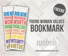Today I'm excited to share with you 3 ways to use this Young Women Value Bookmark with your Young Women. Each includes adding this bookmark into a mutual or other Young Women activity – which means we're simplifying the planning process – Yay for rocking our callings! If you're still in the last minute planning…