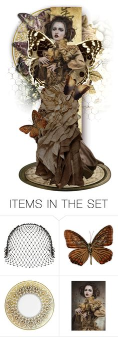 """Moth"" by alicja2204 ❤ liked on Polyvore featuring art"