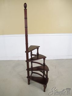 Beth my mom found this -- sooo cool! I love the idea that you can move it, that it is super unique, that u could use it in another room or helping w Xmas decorations or extra seating. What do u think? This would def be much easier than installing the ladder on wheels.  But def want your opinion xo