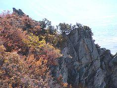 Cliffs near Provo Cave