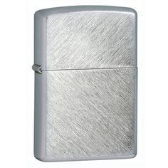Zippo 24648 Classic Herringbone Sweep Brushed Chrome Windproof Lighter,