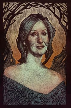 J.K. Rowling by Audrey Benjaminsen