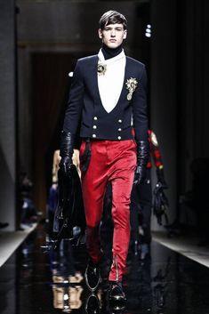 Male Fashion Trends: Balmain Homme Fall/Winter 2016/17 - Paris Fashion Week