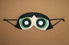 Powerpuff Girls Buttercup Sleep Mask / Eye Mask by OmiPop on Etsy