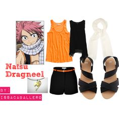 """""""natsu dragneel - fairy tail"""" I don't care how long it takes to find this outfit but when I do I will wear it"""
