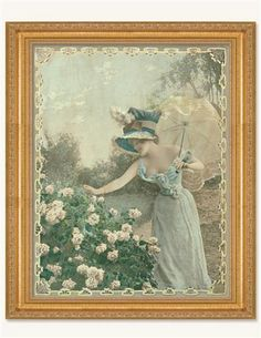La Libellule Framed Print from Victorian Trading Co.