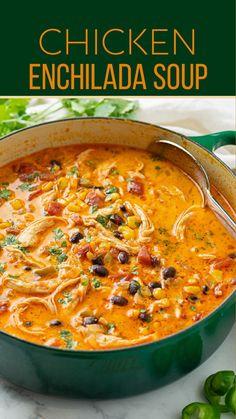 Healthy Soup Recipes, Mexican Food Recipes, Dinner Recipes, Cooking Recipes, Ethnic Recipes, Dinner Ideas, Churros, Quesadillas, Enchiladas