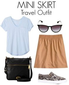 keep it fun but classy.. If you are traveling to a very conservative locale then your mini is best left at home and your better off choosing one of the other two travel skirt styles.