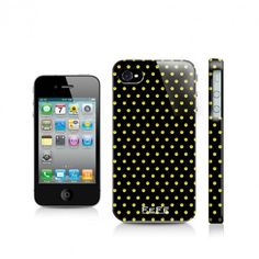iPhone 5 Cover - yellow smiley faces