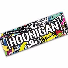 HOONIGAN SB4 Sticker Bomb Decal Car Macbook Laptop Funny Ken Block JDM Banner #UnbrandedGeneric