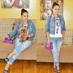 double denim, denim on denim, denim, casual look, casual outfit, spring fashion, summer fashion, what to wear, fashion advice, fashion blogger, style blogger, outfit of the day, Lakshmi in Trance, Lakshmintrance