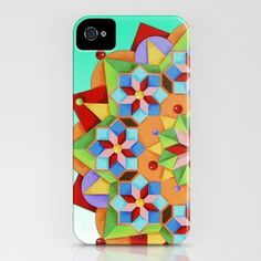 Manchester Mandala #iPhone case on #Society6 by Patricia Shea Designs.