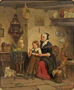 Дети и бабушки — Приют