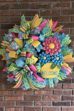 Welcome to the showcase of beautiful wreaths and centerpieces! These stunning creations were made by designers in the Trendy Tree Marketing Group. Wreath Crafts, Diy Wreath, Wreath Ideas, Burlap Wreaths, Wreath Making, Ribbon Crafts, Deco Mesh Wreaths, Door Wreaths, Ribbon Wreaths
