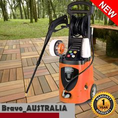 3500PSI High Pressure Washer Electric Water Cleaner Gurney Pump 10m Hose