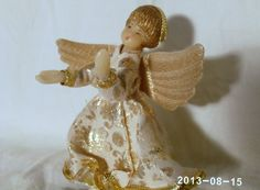 Vintage Koestel Handarbeit West Germany Angel by GrannyRuthsAttic, $25.00