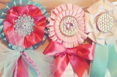 Until they're old enough to win their own- i could doll up some show ribbons and make a garland for Hay's room