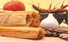 Recipe for 60 Minute Chicken Tamales uses instant masa flour, prepared salsa and a purchased rotisserie chicken.